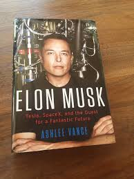 biography book elon musk salvador briggman