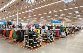 walmart s all led lit center in south euclid oh