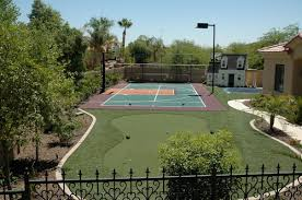 Basketball Court In The Backyard Backyard Ideas Sports Field Game Court Ideas Guide Install