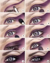 makeup ideas for s eye tutorial purple magic