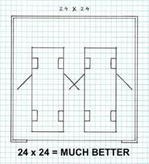 Blueprints For Garages 2 Car Garage Plans Make Sure Your Two Car Garage Plans Are Big