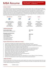 Mba Resume Examples by 461 Best Job Resume Samples Images On Pinterest Job Resume