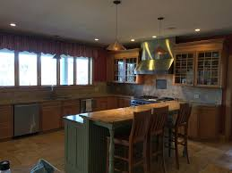 Kitchen With Center Island by Stowe Hollow Rental 5 Bedroom 5 Bath Sl Vrbo