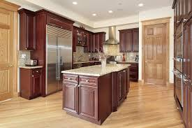 Light Wood Kitchen Cabinets 43 Kitchens With Extensive Dark Wood Throughout