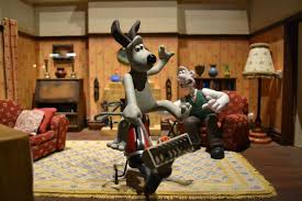 wallace gromit creative duo open australian exhibition abc