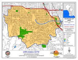 Los Angeles City Map Studio City Neighborhood Council Map Los Angeles Real Estate
