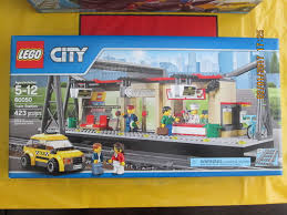 lego city train station 7937 limited edition new in sealed box