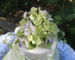spring wedding cake topper ideas