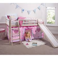 girls bed tent fairies cabin bed with slide u0026 tent noa u0026 nani