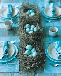 blue easter eggs easter entertaining in blue