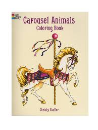 free coloring page carousel animals coloring book download free