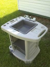 Diy Outdoor Sink Station by Kitchen Sinks Fabulous L Shaped Outdoor Kitchen Outdoor Sink