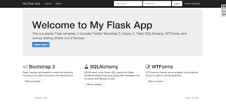 Flask Template github sloria cookiecutter flask a flask template with bootstrap
