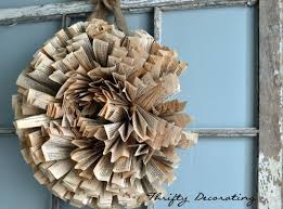 Christmas Decoration Wreath Old Book Pages by 107 Best Wreaths Images On Pinterest Wreath Ideas Christmas