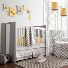 Grey And Yellow Crib Bedding Gray And Yellow Zig Zag Crib Bedding Bold Chevron Crib Bedding
