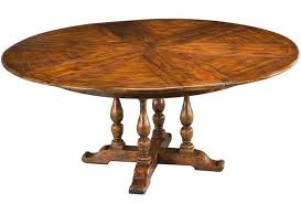 Yew Dining Room Furniture 64 84 Round Solid Walnut Dining Jupe Table With Hidden Leaves
