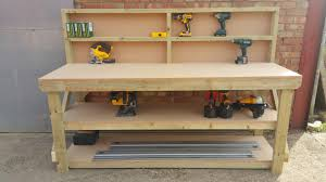 Boys Wooden Tool Bench Wooden Work Bench Home Furniture U0026 Diy Ebay