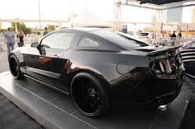 2011 Black Mustang Widebody 2010 Galpin Auto Sports Shows Off Custom Widebody