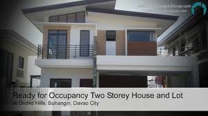 ready for occupancy two storey house and lot at orchid hills youtube