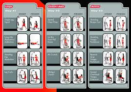 weider home gym exercise chart pdf sport fatare
