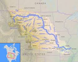 missouri breaks map list of dams in the missouri river watershed