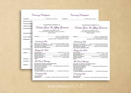 program for catholic wedding mass flat catholic program template wedding instant