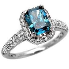 engagement rings with blue stones 2 51 carats engagement rings review