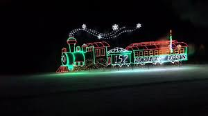 christmas lights train ride see clips from the huckleberry railroad train ride at christmastime