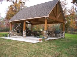 How To Design An Outdoor Kitchen Best 25 Backyard Pavilion Ideas On Pinterest Outdoor Pavilion