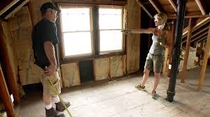 attic u0027master suite u0027 makeover video diy