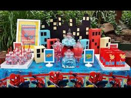 Australian Themed Decorations - spiderman themed birthday party youtube little wish parties