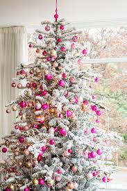 dreaming of a pink christmas pink christmas tree decor pink