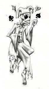 joker tattoo by bobbu on deviantart