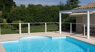 piscine en verre chalet u0026 jardin boutique poteau pour panneau de barrière de