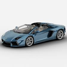Lamborghini Aventador Lp700 4 Roadster - lamborghini aventador lp700 4 roadster 3d model