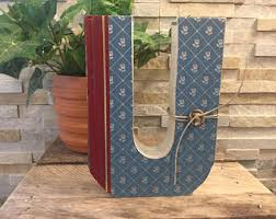 monogram bookends monogram bookends etsy