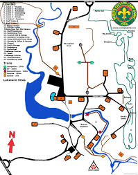 Map And Directions Samac Maps And Directions Scouts Canada