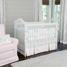 Design Crib Bedding A Baby S Nursery Designer Crib Bedding In Pink
