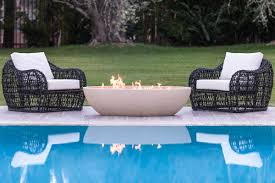 Eldorado Outdoor Fireplace by Eldorado Stone Kulm Artisan 60 Inch Oval Gas Fire Pit