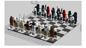 Cool Chess Sets by Lego Ideas Star Wars Chess Set Episodes 4 6