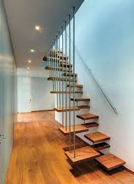 wooden floating staircase design for valna house by jsa loversiq