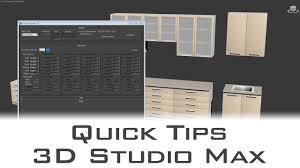 Autodesk Ds Max Quickly Detail Interiors With Cabinet Maker - Kitchen cabinet creator