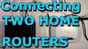 one home how to connect two routers on one home a lan cable