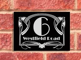 flat surface mounted signs u2013 house and business signs the acrylic