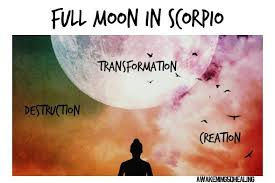 Full Moon Meme - scorpio full moon transformation destruction and creation