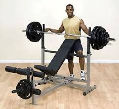 olympic style weight bench buy body solid olympic style combo weight bench gdib46 in cheap