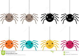 spiders in colours royalty free stock photography image 10507247