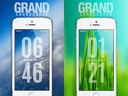 theme ls grand ls the best lock screen theme for ios 7 redmond pie