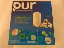 Faucet Mount Filter Pur Mineral Clear Water Filtration System 1 Faucet Mount 4 Filter