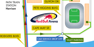 Mls Teams Map Transportation Hub New York Red Bulls